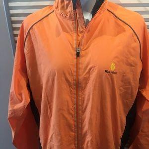 Cycling jacket with a kangaroo pocket on back XXL